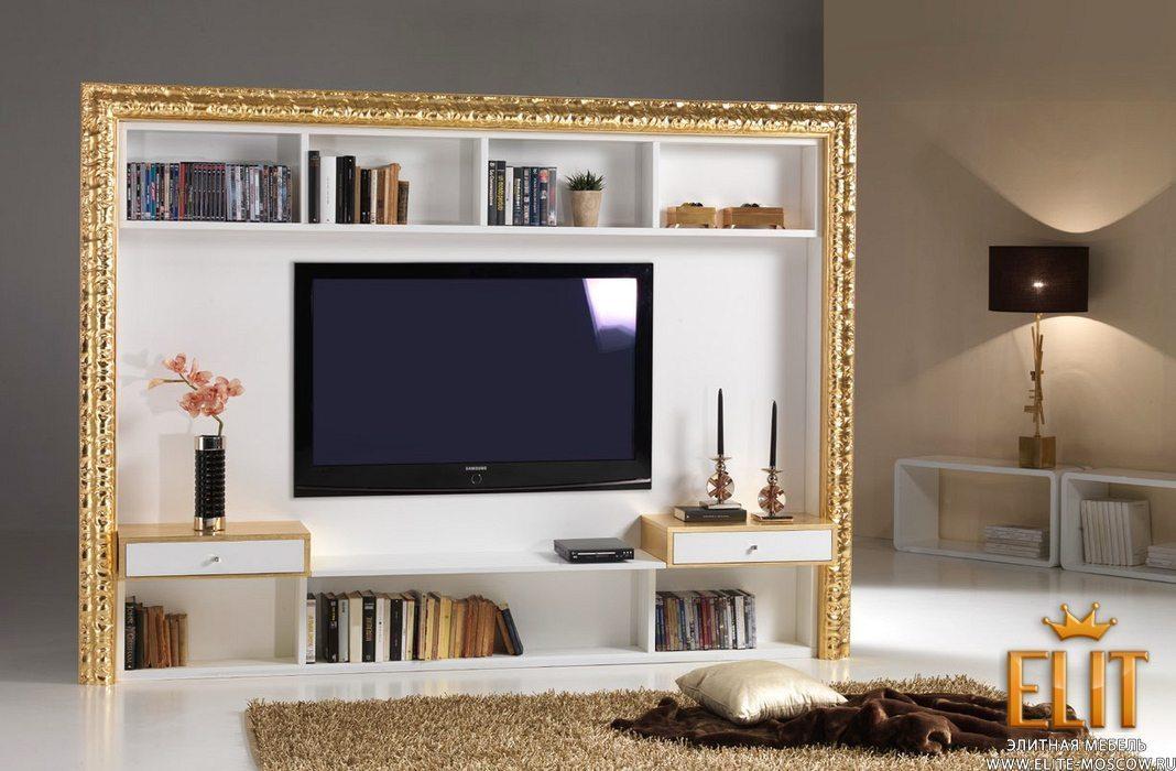 Стенки ТВ и стеллажи фабрики Mowa