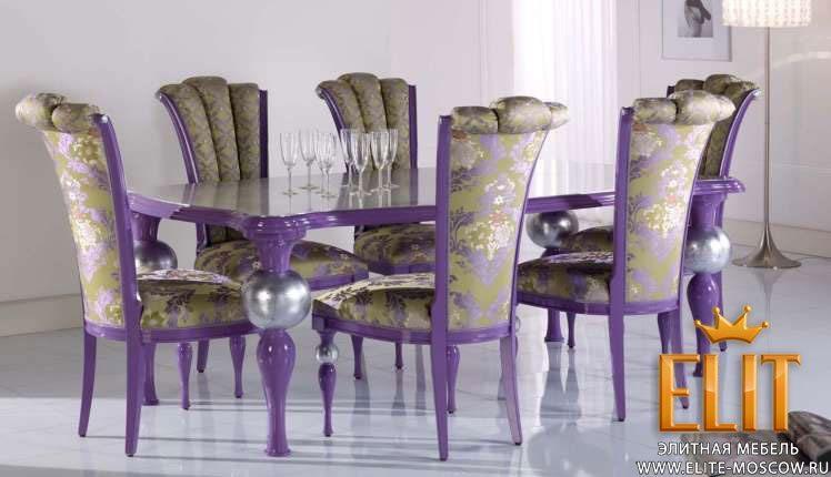 Столы и стулья Cortina фабрики Bello Sedie