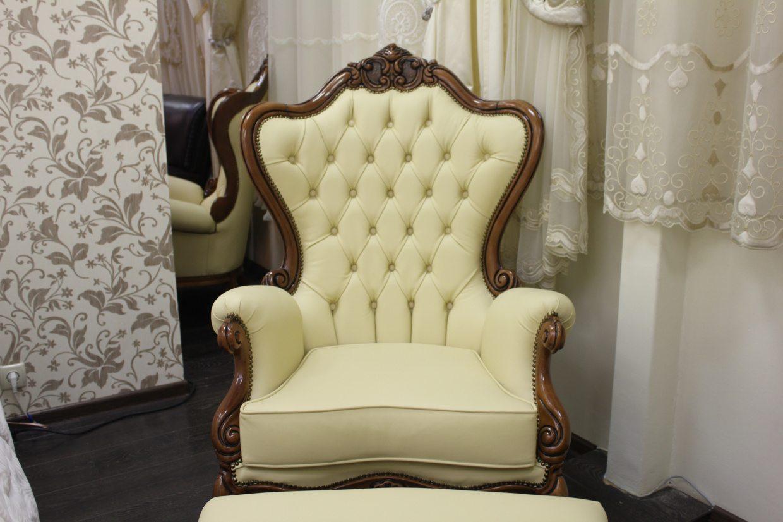 Кресла и пуф от фабрики Seven Sedie